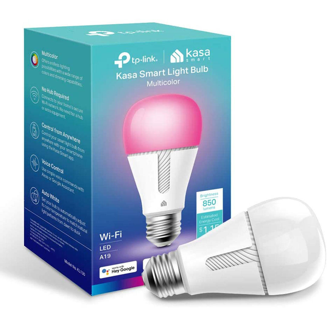 Kasa dimmable smart bulb