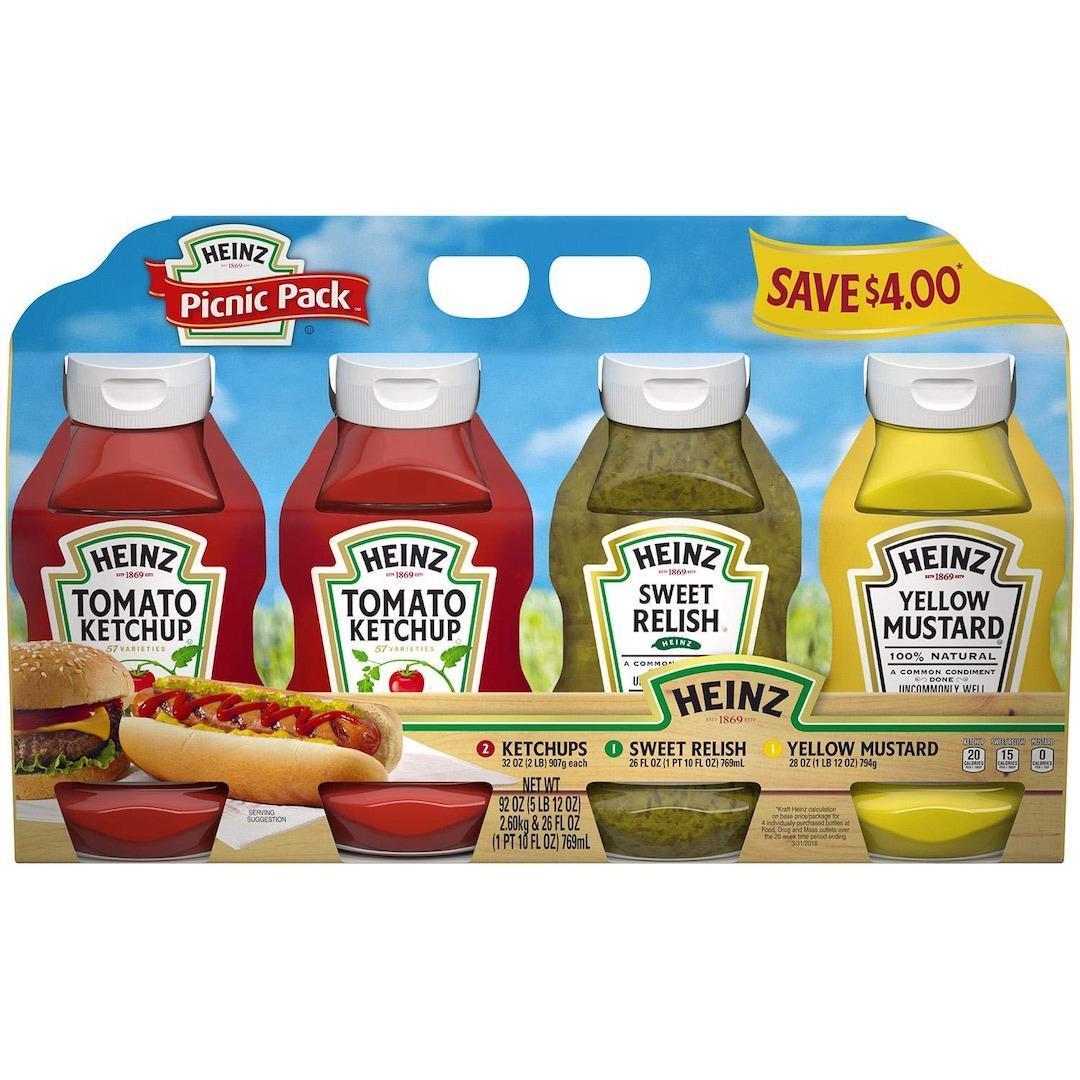 Heinz condiment set