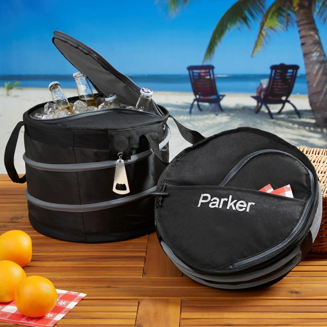 Personalized collapsible cooler