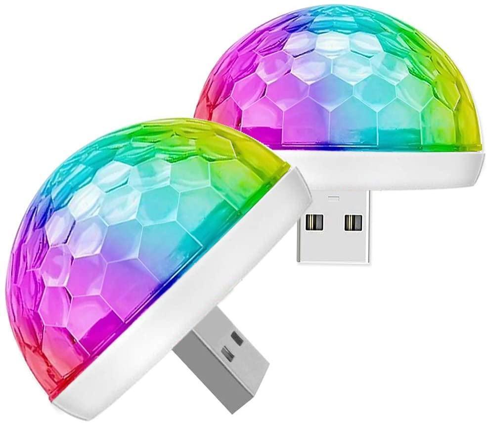 mini disco lights