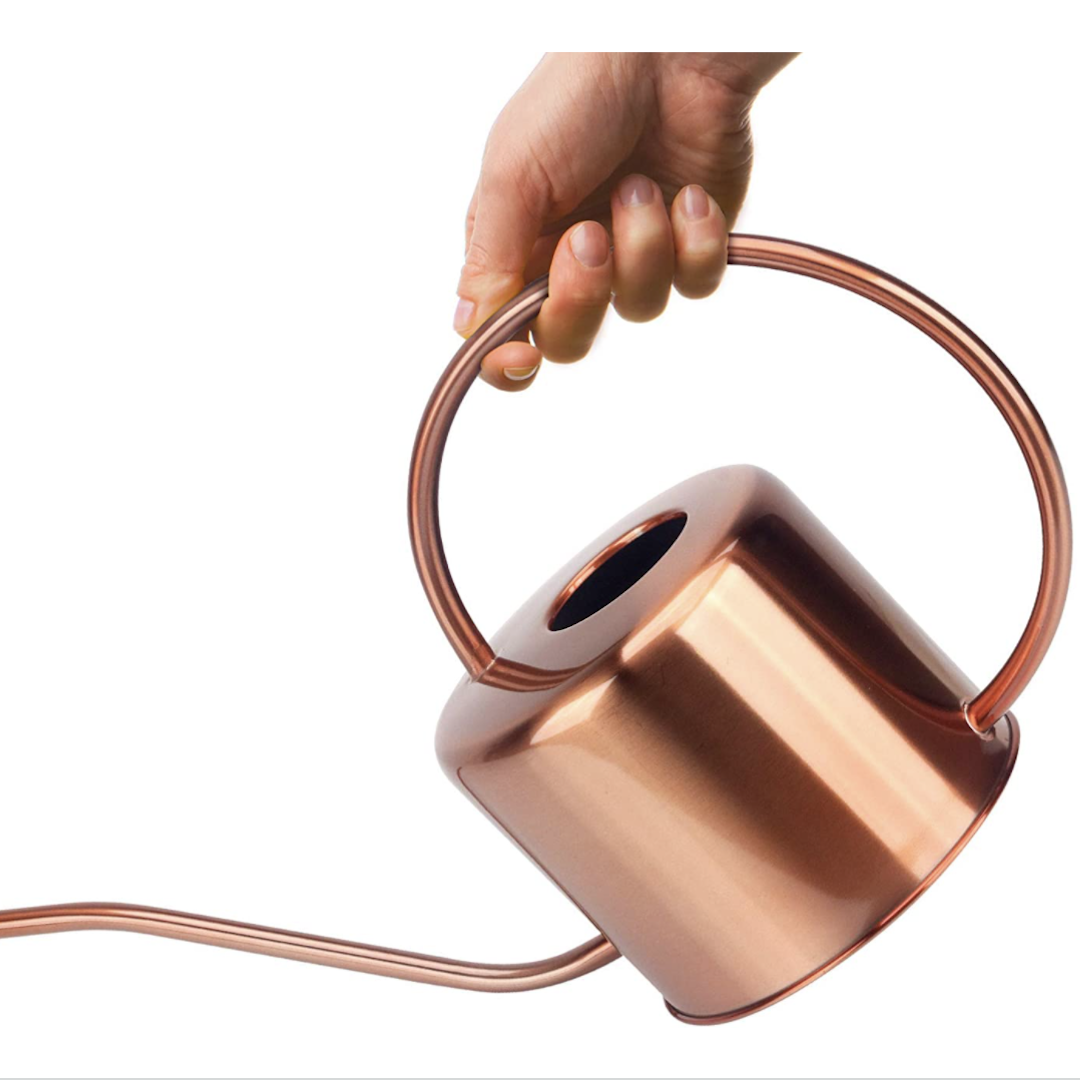 Kibaga copper colored watering can