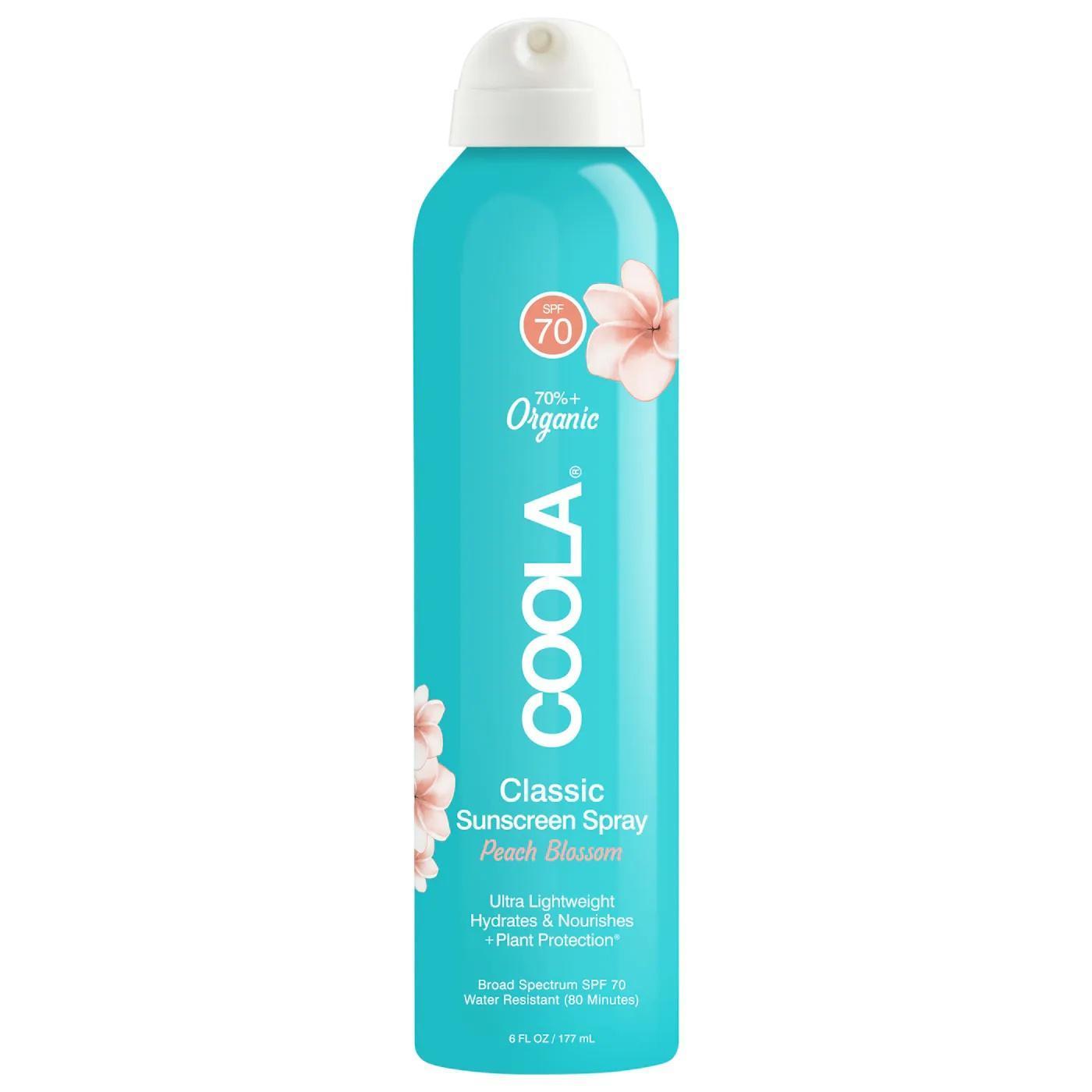 COOLA Classic Body Organic Sunscreen Spray Peach Blossom