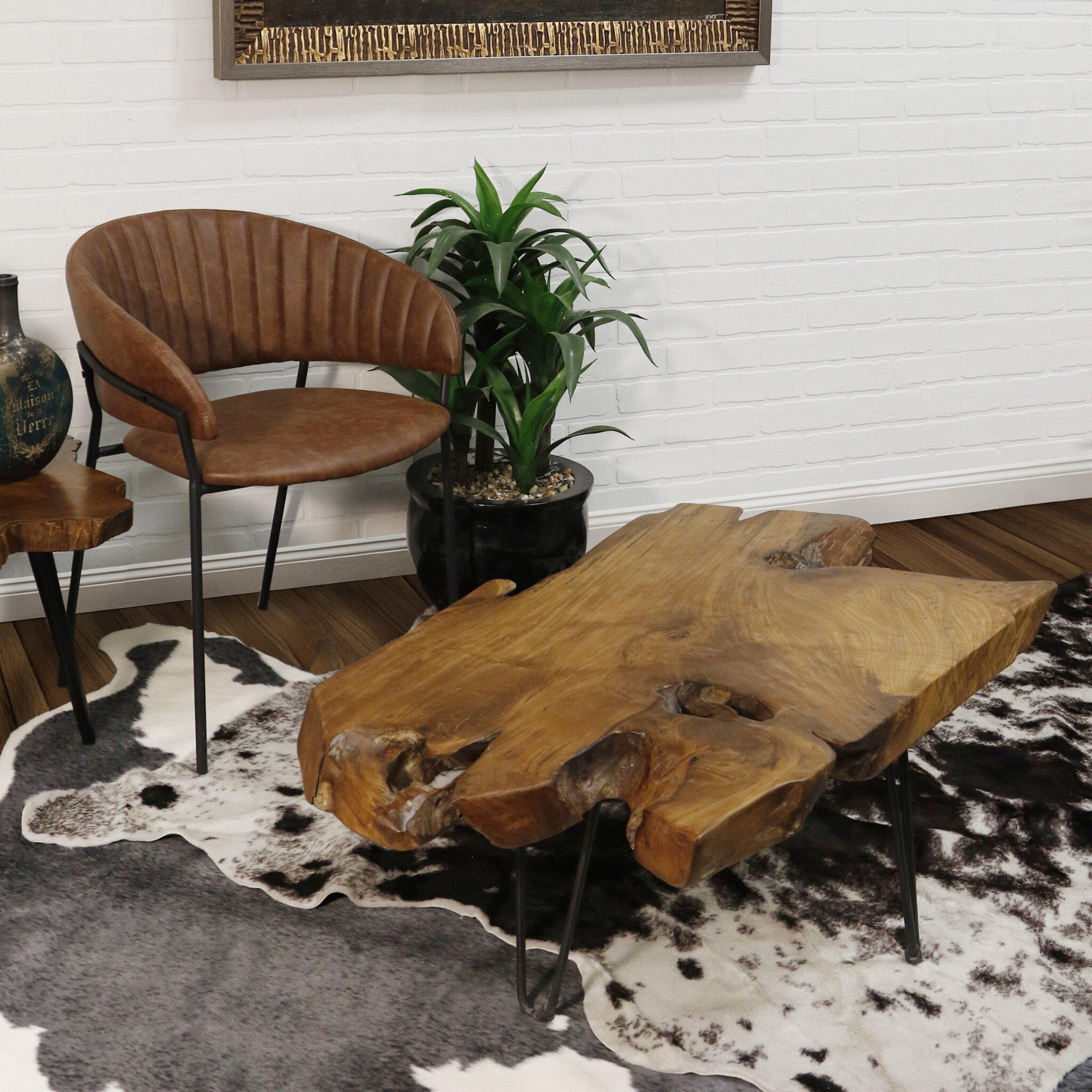 Dartmouth three-leg coffee table