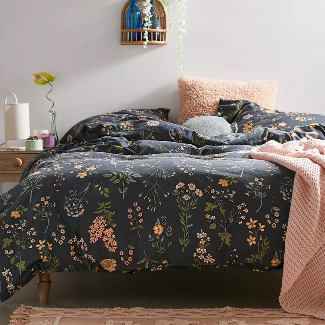 Urban Outfitters Myla floral duvet set