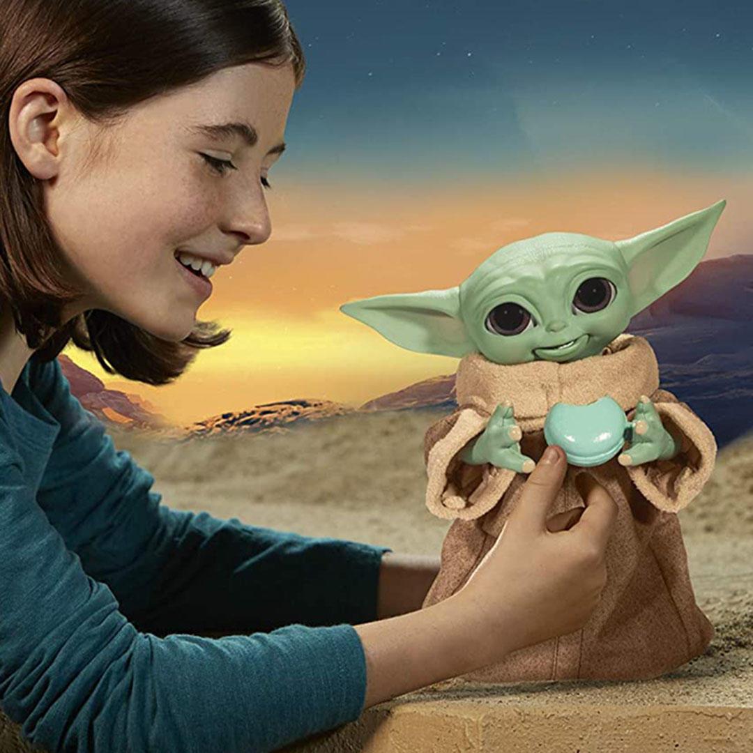 Star Wars Snacking Grogu