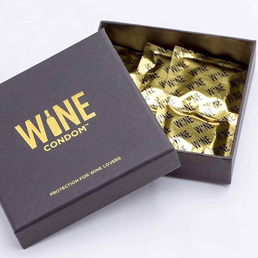 The Original Wine Condoms