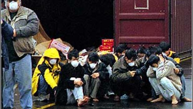 human smuggling Asian