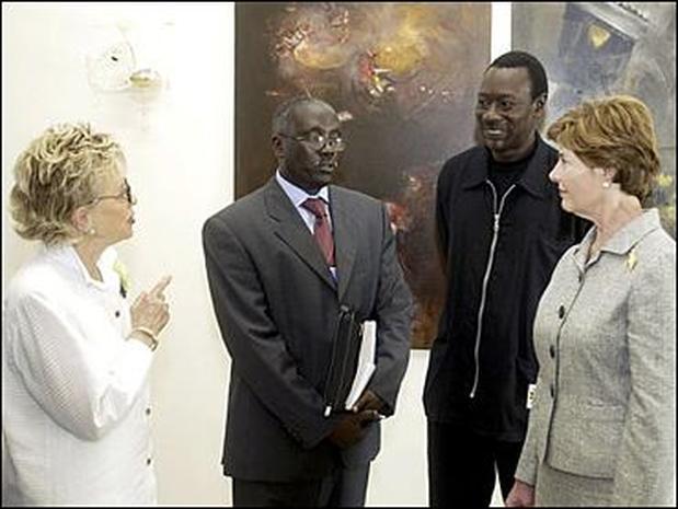 Bush In Africa