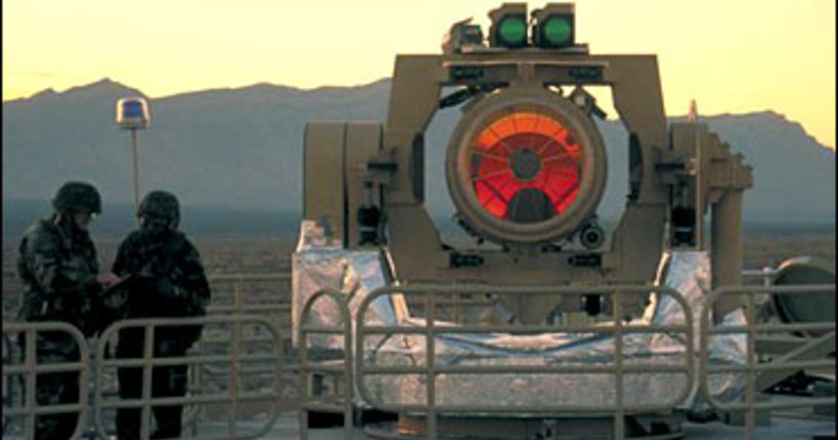 Laser Weapons In U S Sights Cbs News
