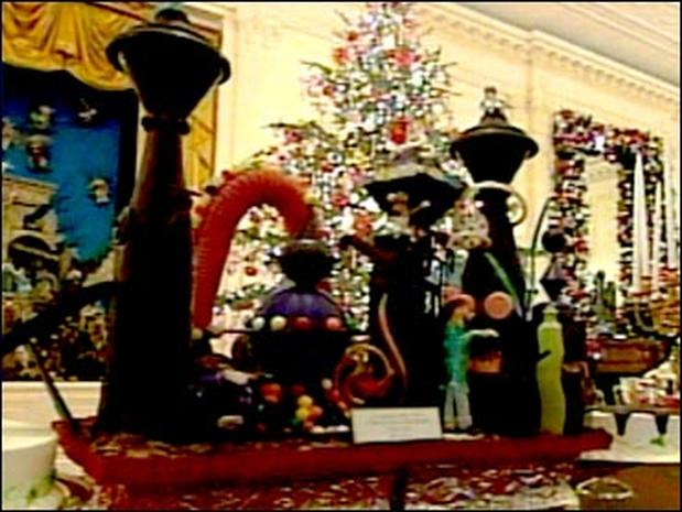 Holiday Decorations, White House Style