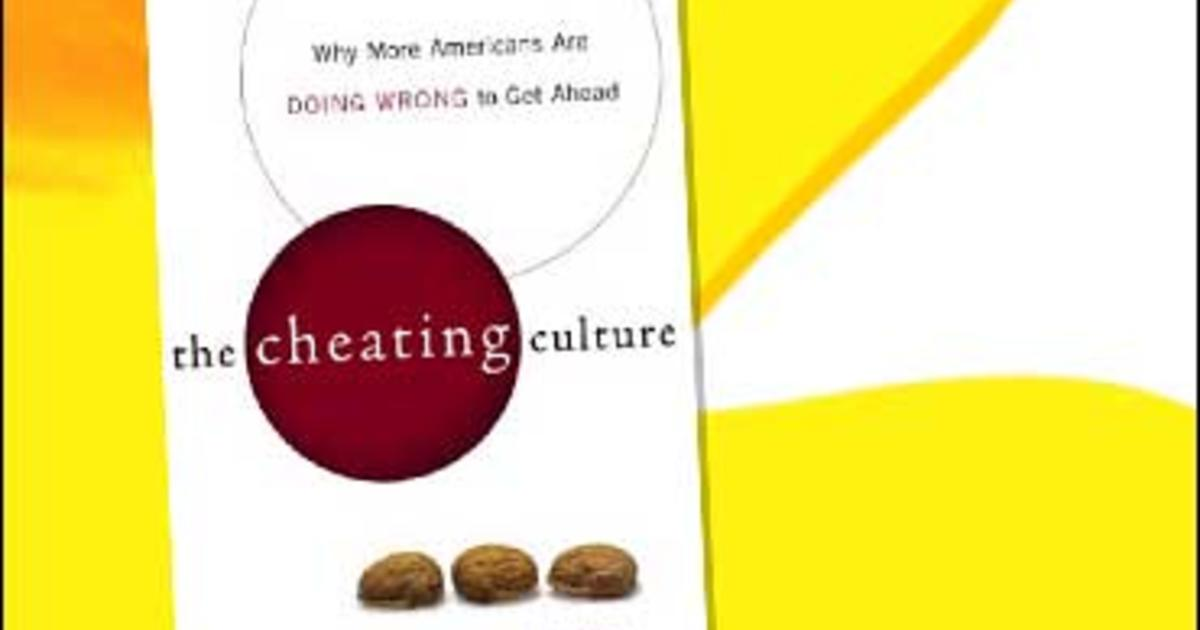cheating culture Through revealing interviews and extensive data, callahan takes us on a gripping tour of cheating in america and makes a powerful case for why it matters lucidly written, scrupulously argued, the cheating culture is an important, original examination of the hidden costs of the boom years.