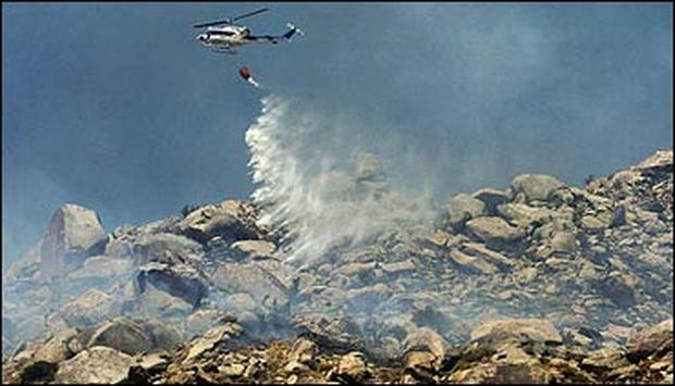 July Wildfires 2004