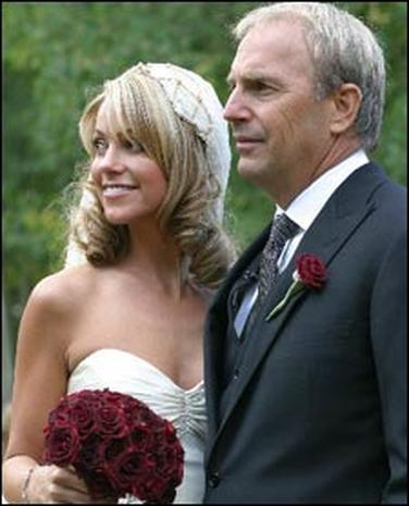 kevin costner weds celebrity circuit pictures cbs news