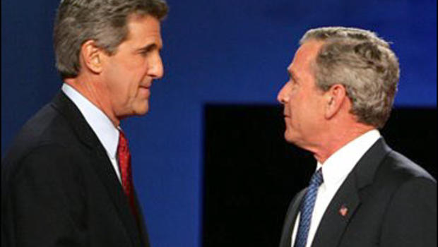 The first presidential debate president george bush and senator john kerry