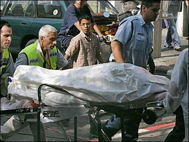 Tel Aviv Bombing