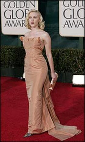 Glamour At The Globes