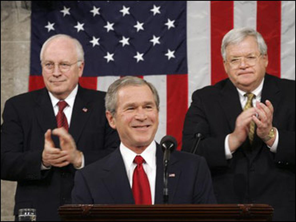rhetorical analysis george bush joint session of congress