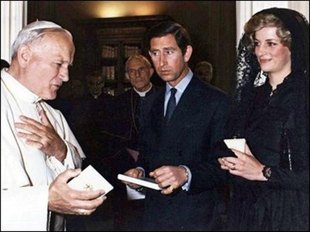 Pope and World Figures