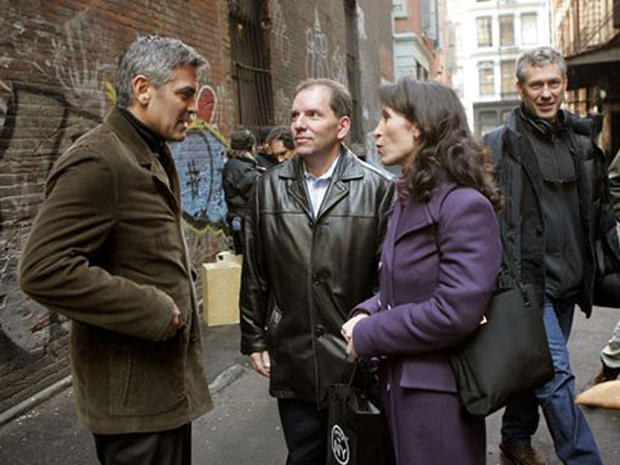 On the Set With George Clooney