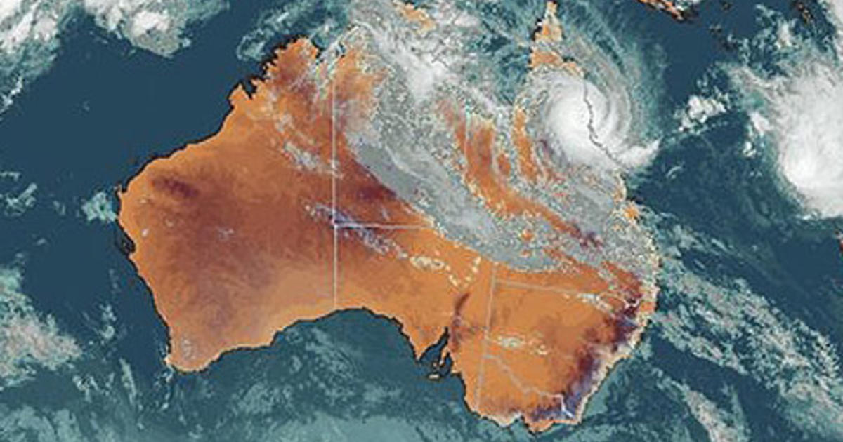 tropical cyclones in australia In this case of the four simultaneous tropical cyclones, a strong mjo was supporting strong upward motion, clouds and thundershowers in the western pacific ocean, extending to northern australia.