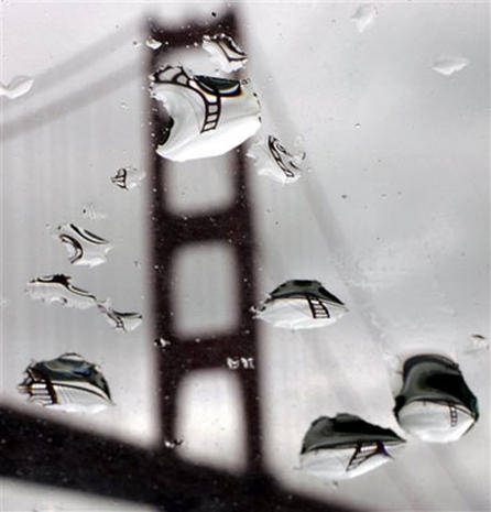 Reflections In Raindrops