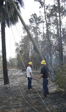 Florida Brush Fires