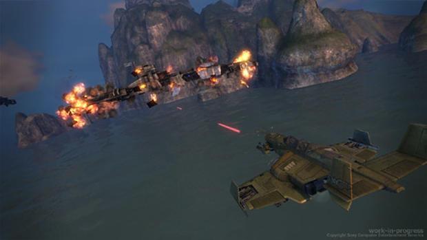 Warhawk Screenshots