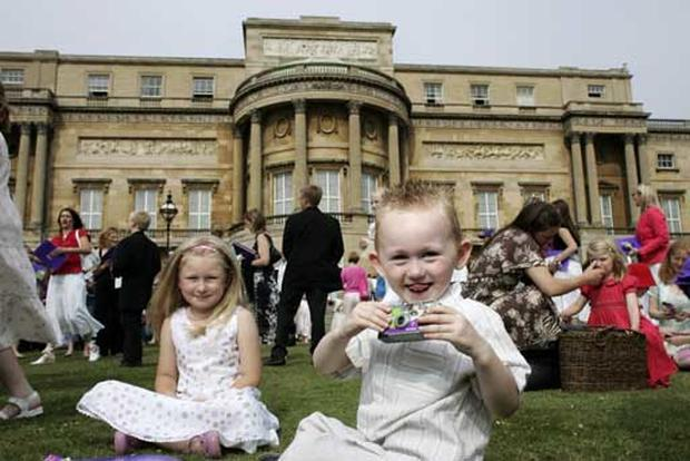 Kids Celebrate Royal Birthday