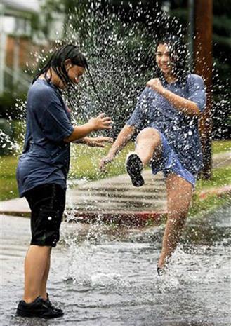 Waterlogged Washington