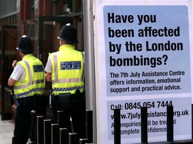 London Bombing Anniversary