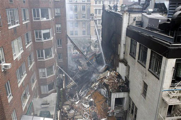 NYC Building Collapse