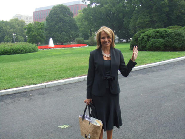 Ms. Couric Goes To Washington