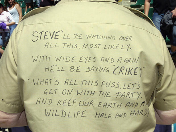 Farewell To Steve Irwin