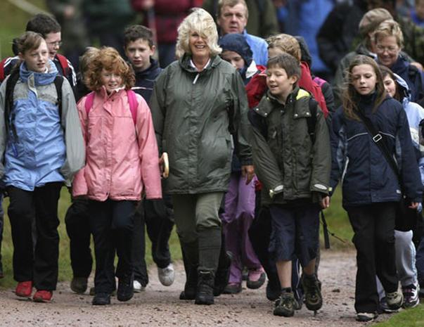 Camilla Takes A Walk
