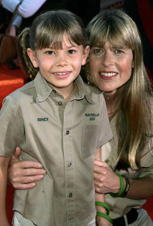 Terri And Bindi Irwin's Night Out