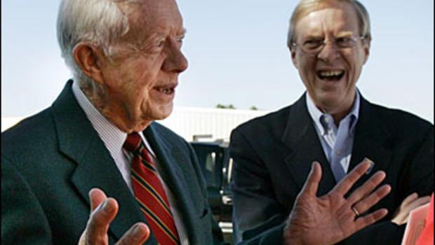 Jimmy Carter Boosts Son's Senate Bid - CBS News
