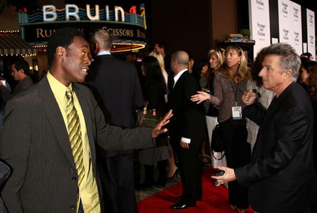 Dustin Frolics At Premiere