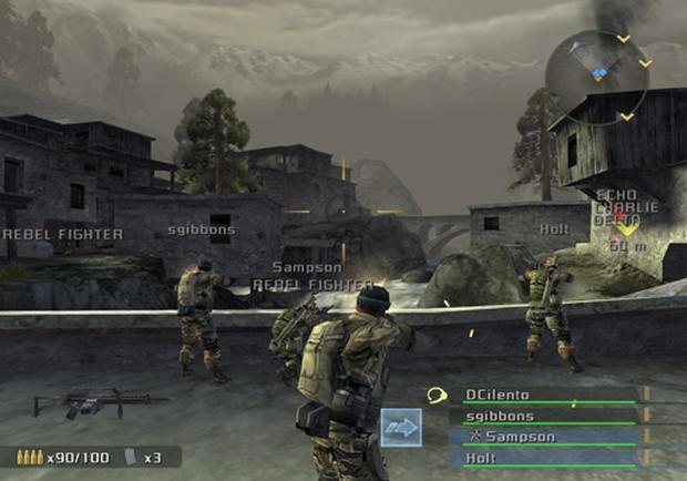 SOCOM Combined Assault Screenshots