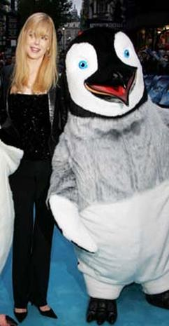 'Happy Feet' Taps Into London