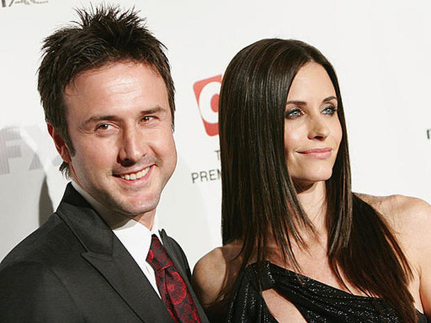 David Arquette & Courteney Cox