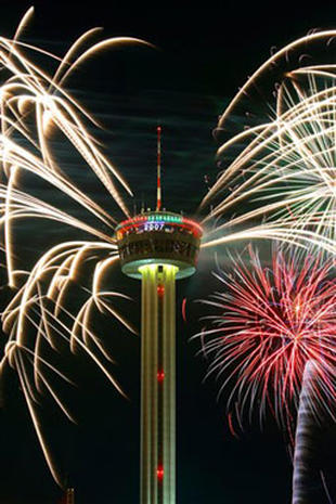 texas happy new year pictures cbs news