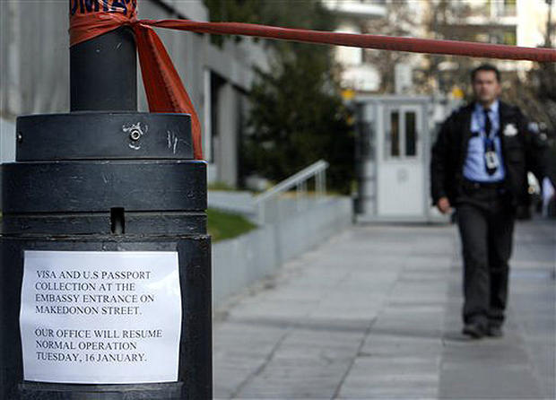 Athens Embassy Attack