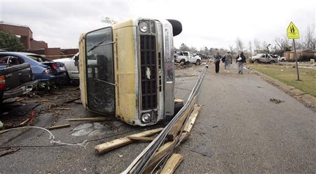 Tornadoes Take Toll