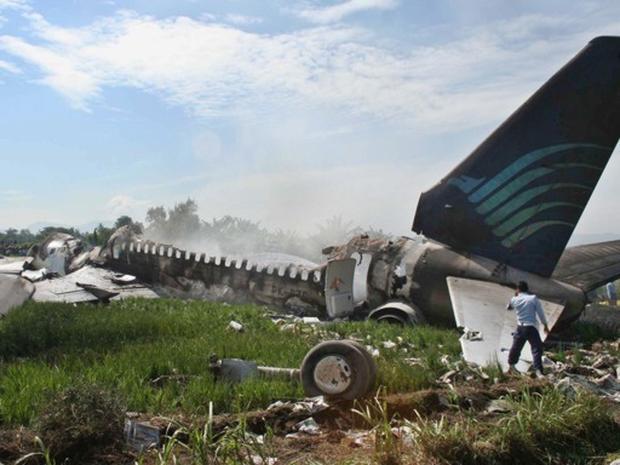 Indonesia Jetliner Fire