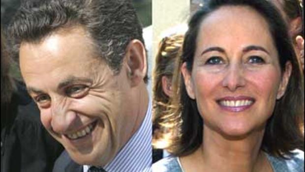 Nicolas Sarkozy, Segolene Royal