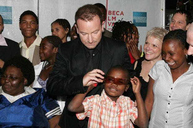 DiCaprio, Bono & Keys