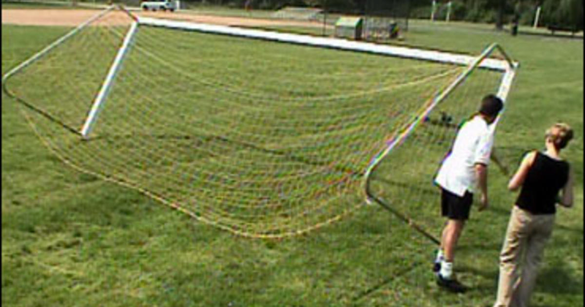 3c1dd1afb Soccer Goals A Real Danger For Kids - CBS News