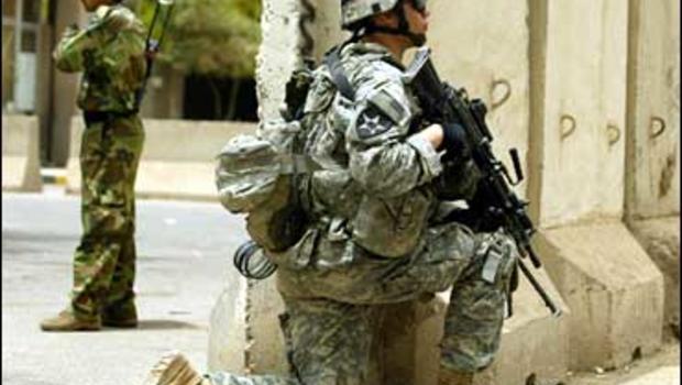 U.S. Soldier, Baghdad, Iraq,