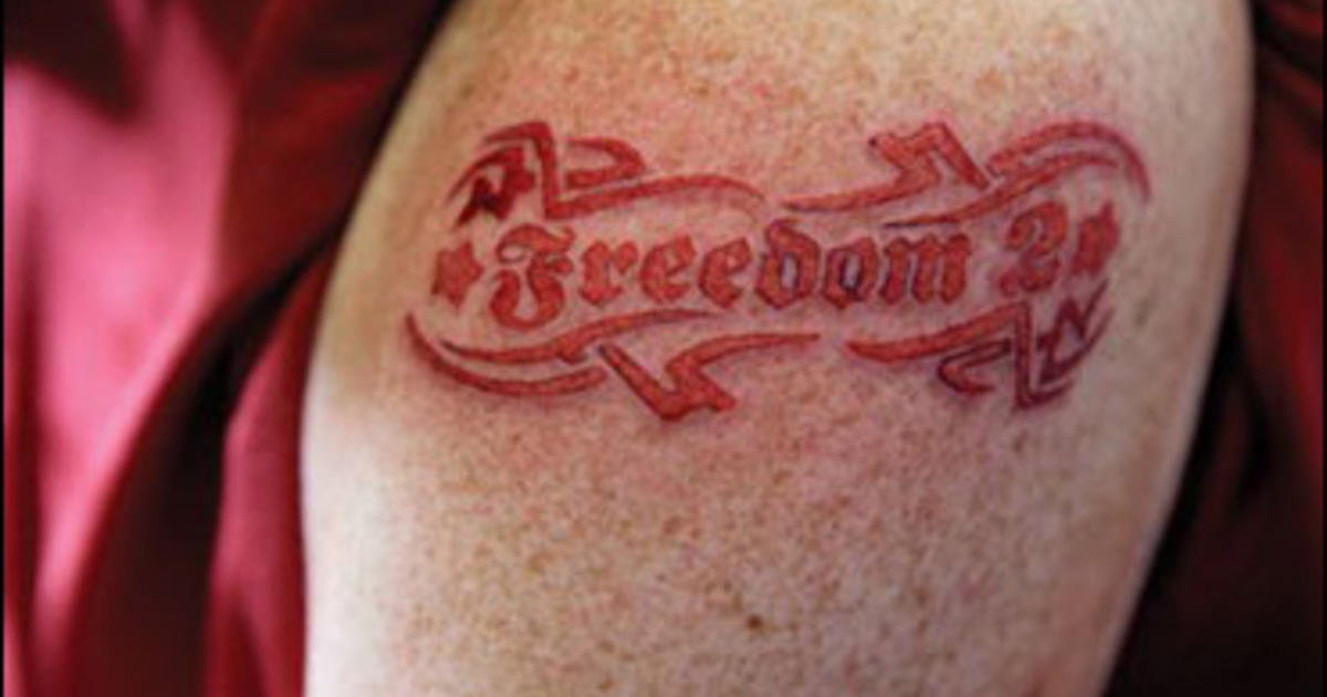 An exit strategy for tattoo wearers cbs news for Age limit for tattoos