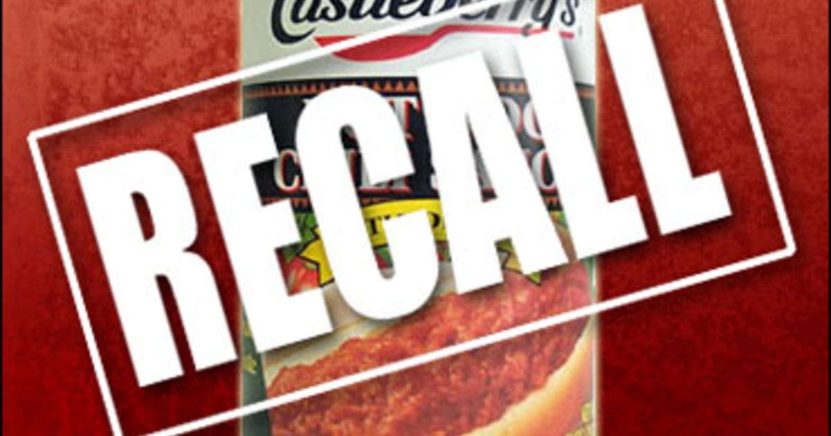 Best Canned Dog Food >> Hot Dog Chili Sauce Linked To Botulism - CBS News